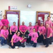 PVSS pink shirts