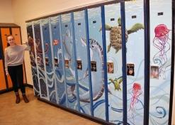 tessa and lockers