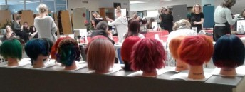 Hairstyling Skills comp. Finished Heads